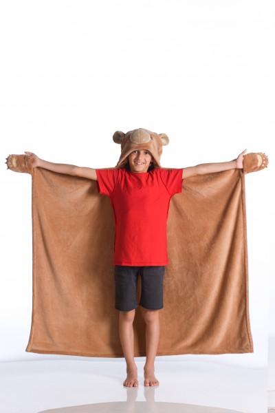 Kinderkuscheldecke Bär